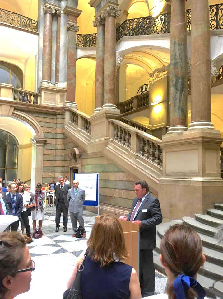 Mediations-Ausstellung - Eröffnung im Justizpalast München